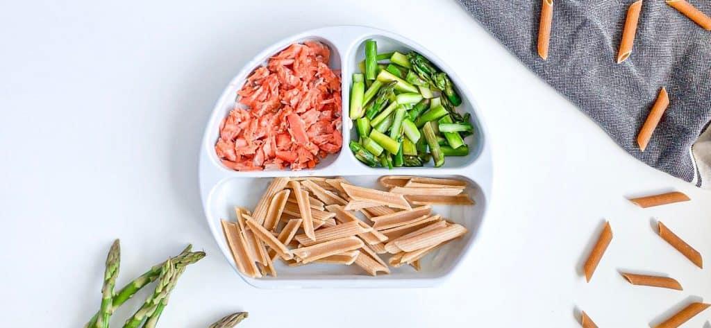 9 month old recipe salmon asparagus pasta