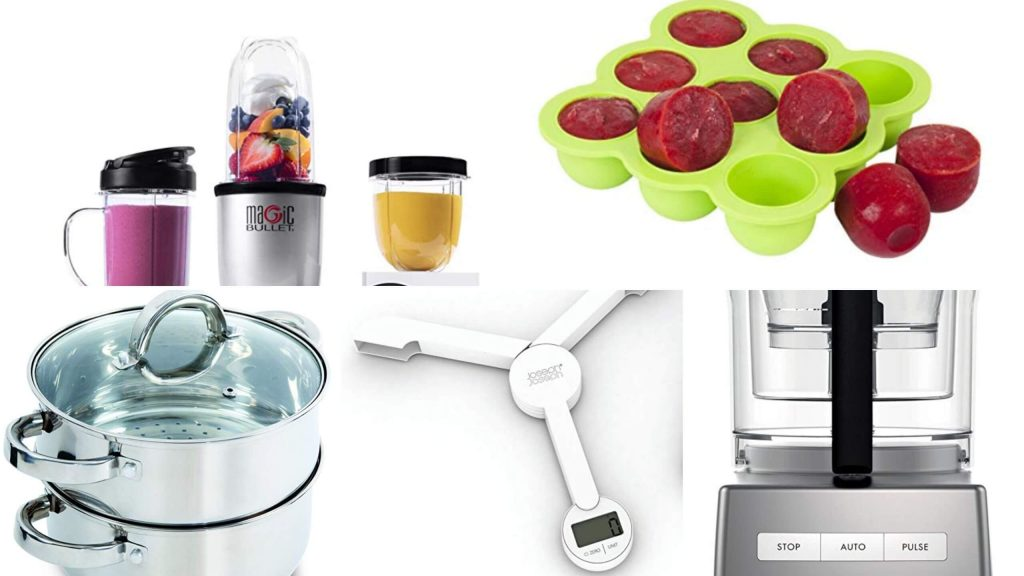 Kitchen Appliances for baby food