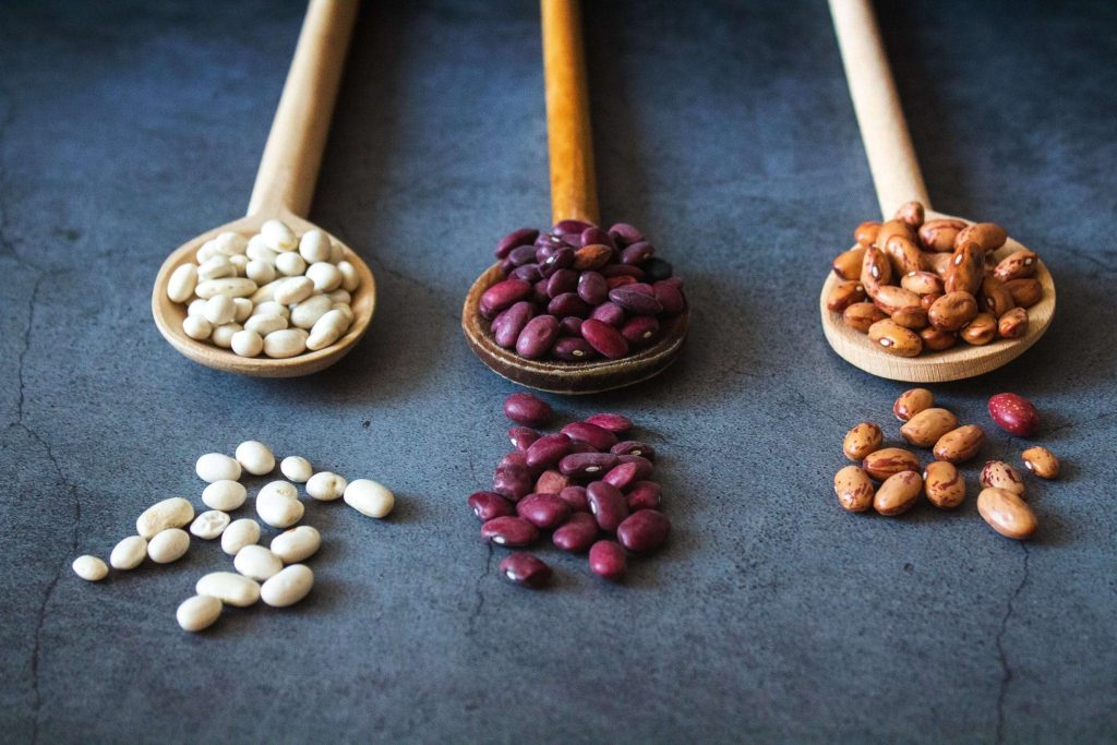 meat-free iron-rich beans